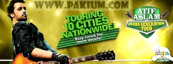 Atif Aslam touring 10 cities Pakistan Wide