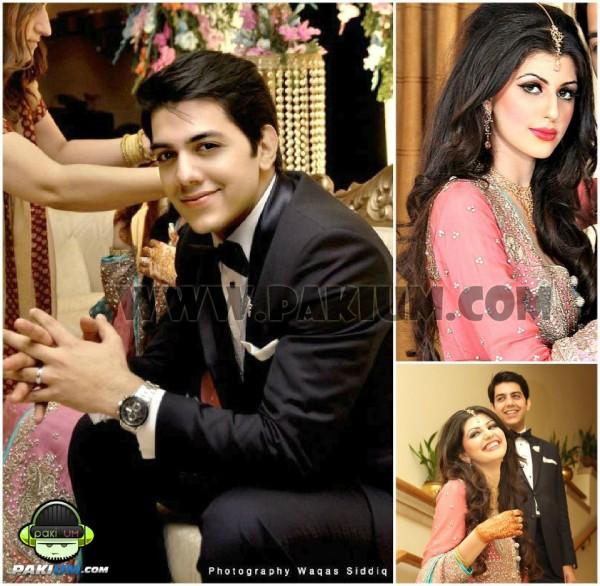 Goher Mumtaz Anam ahmad on Engagement Day