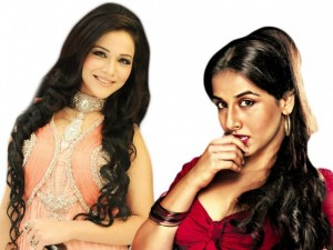 Humaima Malik competing Vidya Balan in APSA Awards