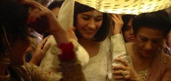 Syra Yousuf at her Nikaah