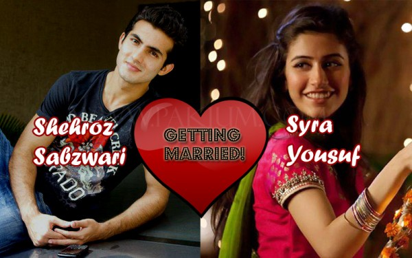 syra Yousuf Shehroz Sabzwari getting married, Wedding soon