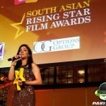 Humaima wearing Blackbird at South Asian Rising Star Film Award Ceremony