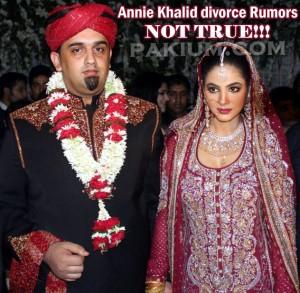 Annie Khalid Divorce Rumors