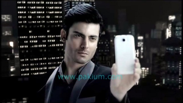 FAwad Khan taking self shot