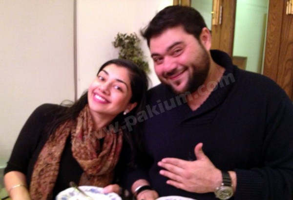 Riyaaz Amlani with Kiran Chaudhry