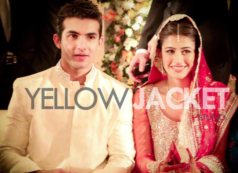 Shehroz Sabzwari Syra Yousaf Wedding Reception Pictures