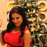 Veena Malik Celebrating Christmas