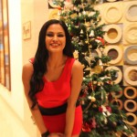 Veena Malik Celebrating Christmas1
