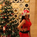 Veena Malik Celebrating Christmas10