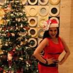 Veena Malik Celebrating Christmas11