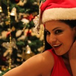 Veena Malik Celebrating Christmas13