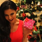 Veena Malik Celebrating Christmas2