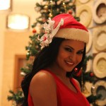 Veena Malik Celebrating Christmas20