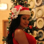 Veena Malik Celebrating Christmas21