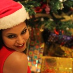 Veena Malik Celebrating Christmas22