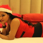 Veena Malik Celebrating Christmas24