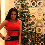 Veena Malik Celebrating Christmas3