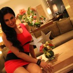 Veena Malik Celebrating Christmas7