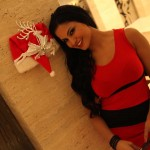 Veena Malik Celebrating Christmas8