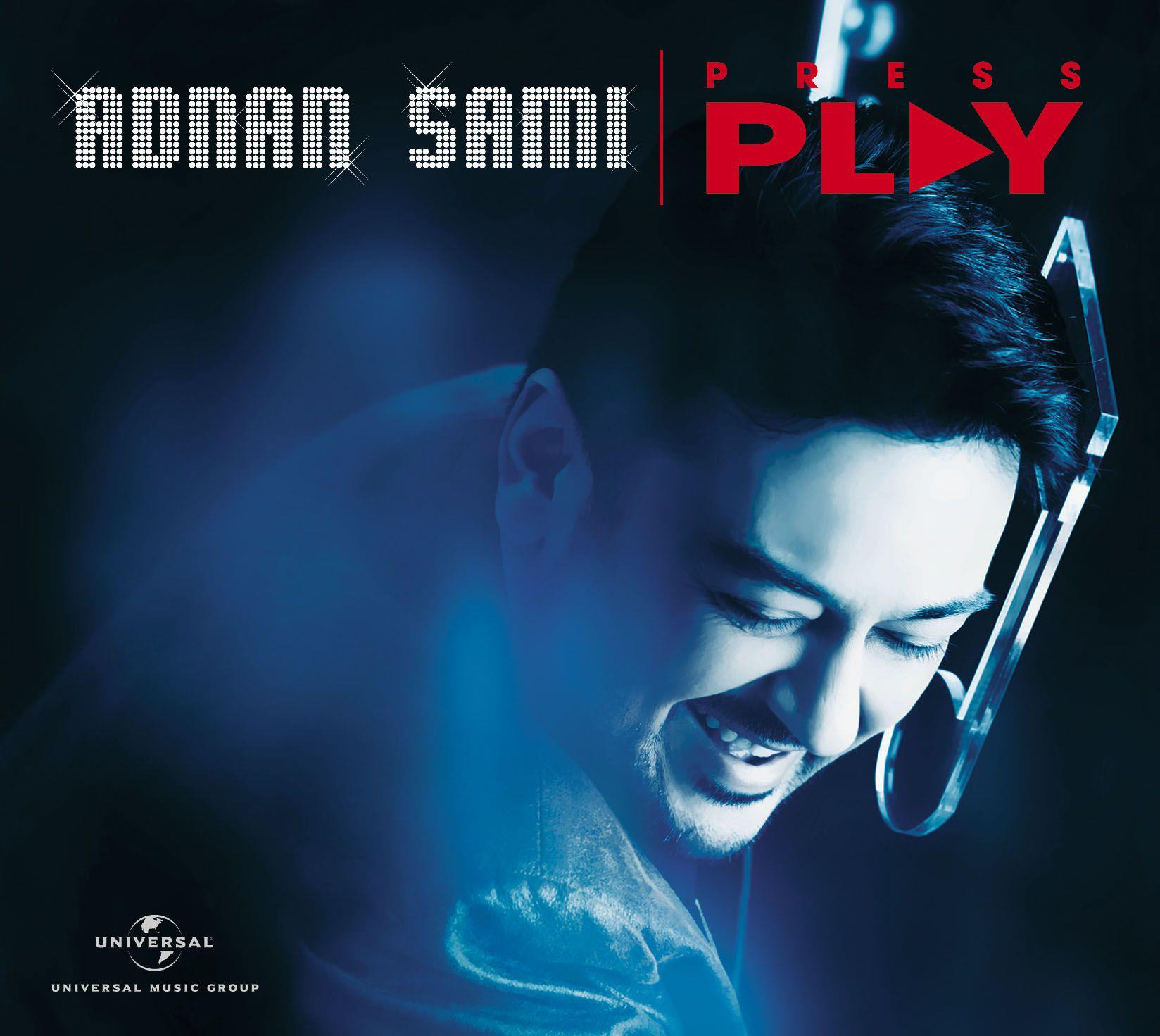 Adnan Sami Press Play album cover 2013