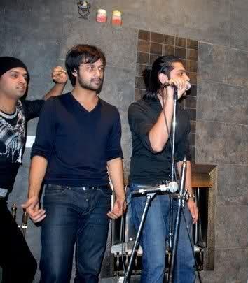 Atif Aslam, Shahbaz Aslam and Goher Mumtaz