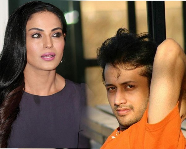 Atif Aslam and Veena Malik