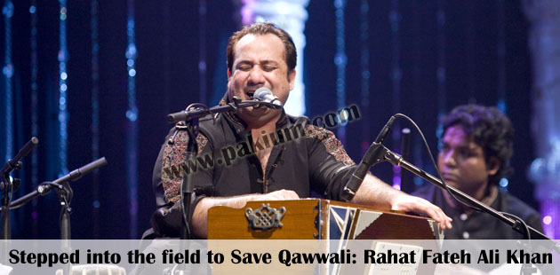 Qawwali by Rahat Fateh Ali Khan