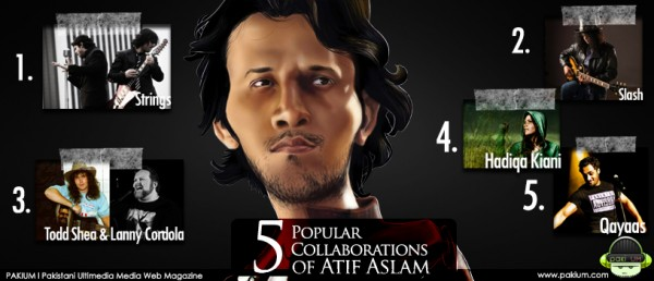 5 Popular Collaborations of Atif with Other Singers