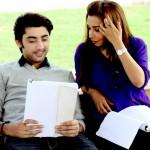 Amanat Ali on the set of Ishq Samandar 1