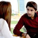 Amanat Ali on the set of Ishq Samandar 12