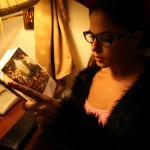 Veena Maliki  Reading Bhagavad Gita11