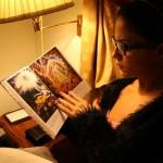 Veena Maliki  Reading Bhagavad Gita13