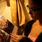 Veena Maliki  Reading Bhagavad Gita19