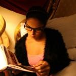 Veena Maliki  Reading Bhagavad Gita21