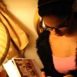 Veena Maliki  Reading Bhagavad Gita23