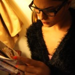 Veena Maliki  Reading Bhagavad Gita24
