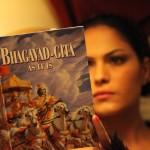 Veena Maliki  Reading Bhagavad Gita3