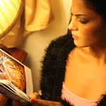 Veena Maliki  Reading Bhagavad Gita6
