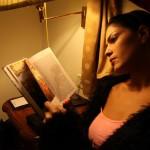 Veena Maliki  Reading Bhagavad Gita9