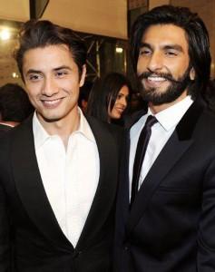 Ali Zafar with Ranveer Singh