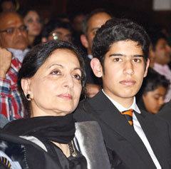 Nazia Hassan Son