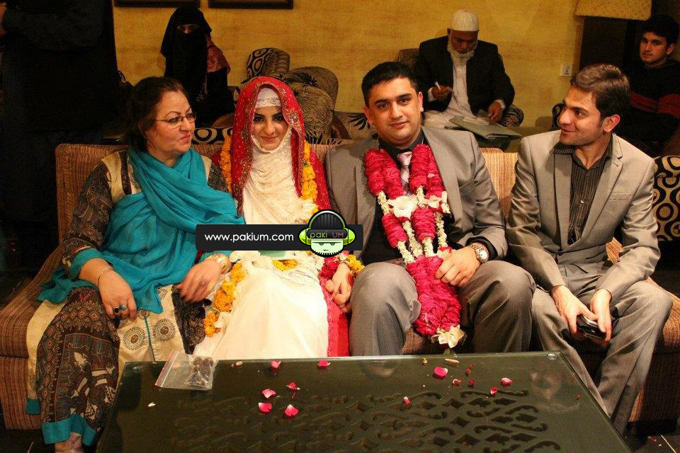 Satesh Khan and Malik Noureed Awan marriage Pictures 2