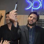 Shahid Afridi opened Splice restaurant in lahore - 12