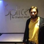 Shahid Afridi opened Splice restaurant in lahore - 3