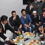 Shahid Afridi opened Splice restaurant in lahore - 8