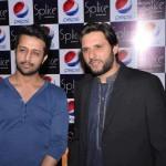 Shahid Afridi opened Splice restaurant in lahore - 9