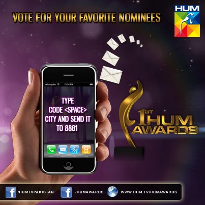 Vote for 1st HUM TV Awards