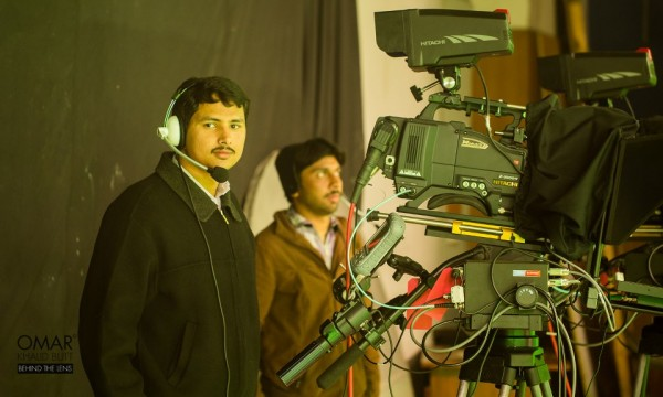 One of the many talented cameramen who are now part of PTV World.