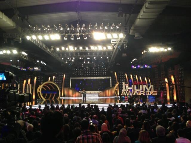 1st hum awards stage