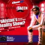 Ali Gul Pir and CloseUP Pakistan in search of Viral Saeen 2013 (1)